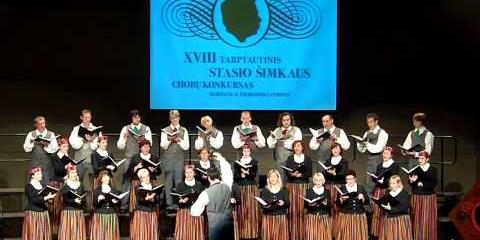 Embedded thumbnail for International Stasys Simkus choir competition